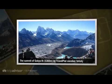 """Trek to Gokyo Ri (5360m) then to Dragnag (4700m)"" Felishj's photos around Everest Region, Nepal"