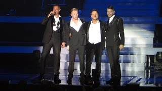 Boyzone - Nothing Without You - BZ20 Tour - at the BIC, Bournemouth on 04/12/2013
