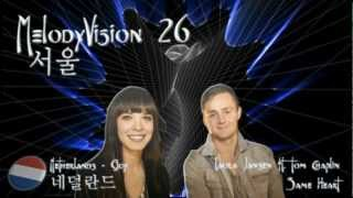 "MelodyVision 26 - NETHERLANDS - Laura Jansen ft. Tom Chaplin - ""Same Heart"""