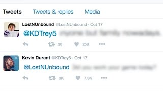 KEVIN DURANT REPLIED!!