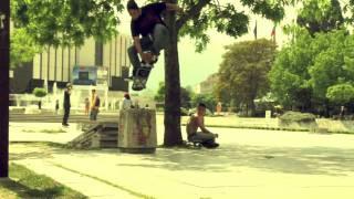 Boaz Aquino skates the streets of Sofia