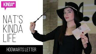 DIY Harry Potter / Hogwarts Acceptance Letter | Nat's Kinda Life | ft. Natasha Negovanlis