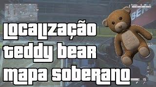 COD GHOSTS - Localização ursinho Teddy Bear Mapa Soberano / Sovereign ( Mercena PT - BR )