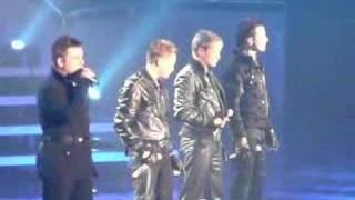 Westlife - Us Against The World - live