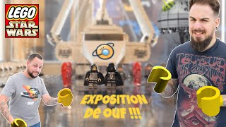 Une ÉNORME exposition LEGO STAR WARS !! FNG#9
