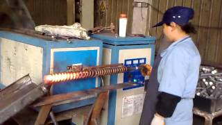 induction heating rod for forging:induction heating,metal tools heat treatment