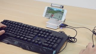 GameSir X1 BattleDock: Connect Your Keyboard and Mice NOW!
