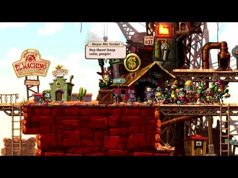 """WTFF::: SteamWorld Dig 2 launches September 21 for Switch, \""""a few days later\"""" for PS4 and PC - Gematsu"""