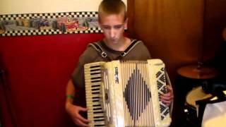 Sloop John B - on accordion