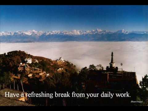Nagarkot – Nepal . More than sunrise, sunset n Himalayas