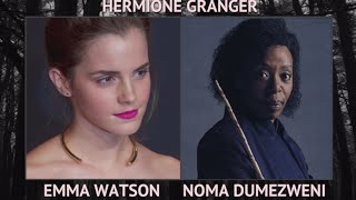 Harry Potter and the Cursed Child | Live Play vs Movie Cast | The Real Reel