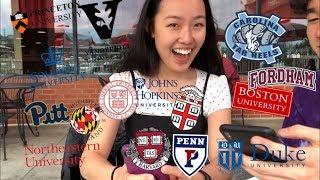 College Decision Reactions 2019!! (15 Schools: Ivies + Hopkins + Vanderbilt + Duke + BU, etc)
