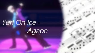 In Regards To Love: Agape (Yuri!!! On Ice) Arrangement