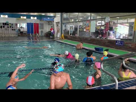第二次游泳課划水練習之一 - YouTube