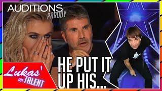 Never Seen Before: IMPOSSIBLE Magic Tricks on America's Got Talent (Britain's Got Talent parody)
