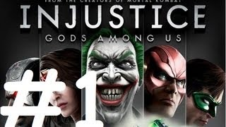 Injustice: Gods Among Us - Playthrough/Walkthrough Part 1 Intro - (HD)