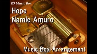 "Hope/Namie Amuro [Music Box] (Anime ""One Piece"" OP)"