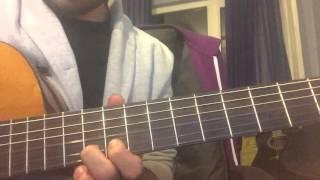 Duman - Bu Akşam (Klasik Gitar Cover) Akor ve Solo
