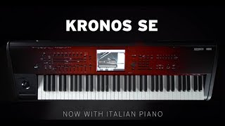 KORG KRONOS SE - Loaded with the new Italian Grand Piano and KApro Showcase