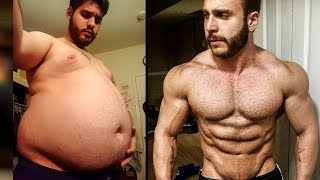 Crazy Fat To Strong Body Transformations! Men Before & After New Year 2017 width=