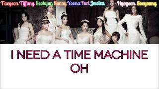Girls' Generation – Time Machine Color Coded Lyrics [Rom/Eng/Kan] 1080p