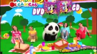 DVD dos Caricas 2  Musicas do Panda Mix