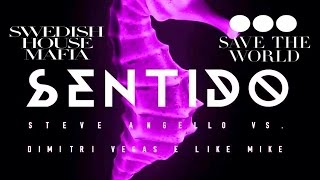 Sentido vs Save The World - Dimitri Vegas & Like Mike Bringing The Madness Belgium 2016