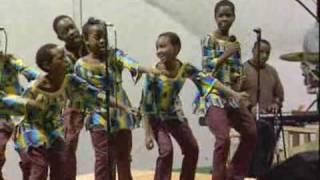Ugandan Children's Choir Sings For Md. Students
