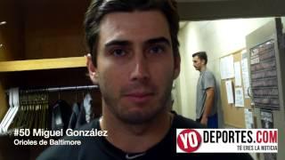 La adrenalina alimentó el regreso de Miguel Gonzalez con Orioles