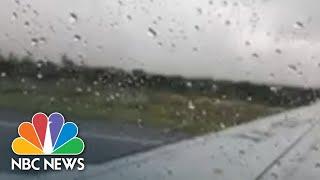 Aeroméxico Passenger Captures Crash And Aftermath   NBC News