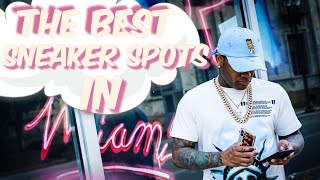 I Went TO THE TOP RATED SNEAKER STORES IN MIAMI!!