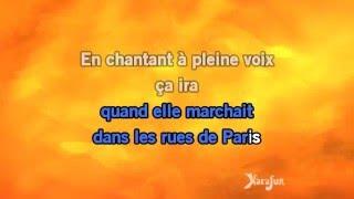 Karaoké Que Marianne était jolie (Tournée Âge tendre et tête de bois - Live) - Michel Delpech *