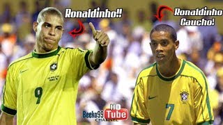 When Ronaldo And Ronaldinho Played Together For The First Time
