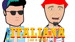 J-AX & FEDEZ - ITALIANA  - PARODIA CARTONE