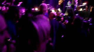 James - Waltzing along Tim Booth in crowd @ manchester versus cancer live 12/12/09