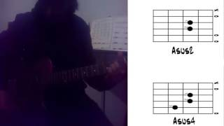 Clase de guitarra/Clase 10: Asus 2 y 4