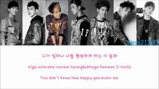 GOT7 - I Like You (난 니가 좋아) [Hangul/Romanization/English] Color & Picture Coded HD
