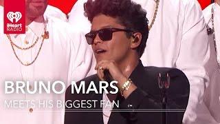 Bruno Mars Meets His Biggest Fan!