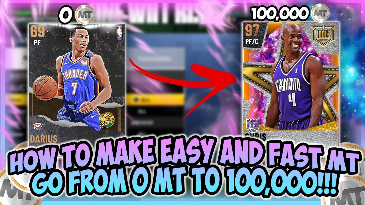 LogicLookss - NBA2K21 - MAKE EASY AND FAST MT!! HOW TO GO FROM 0 MT TO 100K EASILY!! MT MAKING METHODS!!!