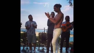 Gitano bailando bulerias