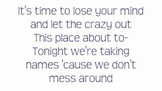 Ke$ha -Blow- Lyrics On Screen