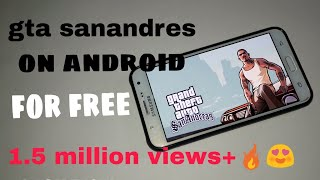 How to download gta san andreas in android for Free