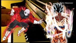 Dragon Ball Super - Goku vs Jiren ULTIMATE BATTLE!  ( Piano Cover ) Ultra Instinct Ost