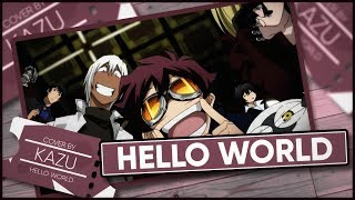 Kekkai Sensen OP 「Hello World」 - Cover by Kazu [Polish Version] +11k. Subs!