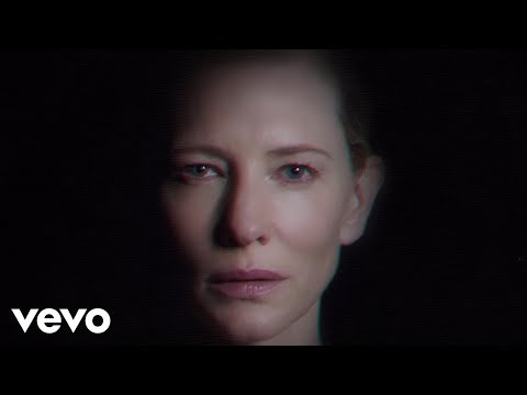 Cate Blanchett, the star in the new Massive Attack video, The Spoils