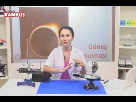 Morpa Kampüs Fen ve Teknoloji Dersi Güneş Tutulması Deneyi