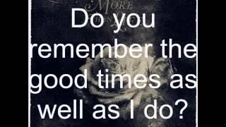 More Than Life - Do You Remember (lyrics)