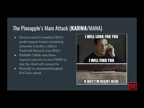 WiFi Pineapple Active Detection via a Raspberry Pi Zero