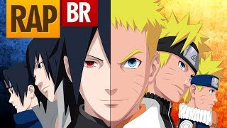 Rap do Naruto e Sasuke | Ft. Tauz | DatteBeats RapRelations 08