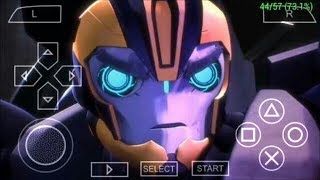 [400MB]How to download Transformers Prime Game PPSSPP ISO Game for android width=